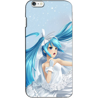 Instyler Premium Digital Printed 3D Back Cover For Apple I Phone 6 3DIP6DS-10064
