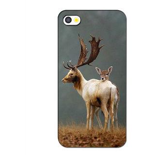 Instyler Premium Digital Printed 3D Back Cover For Apple I Phone 4S 3DIP4SDS-10072