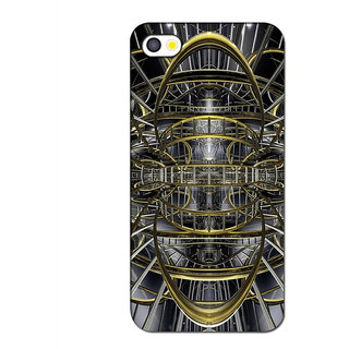 Instyler Premium Digital Printed 3D Back Cover For Apple I Phone 4 3DIP4DS-10087