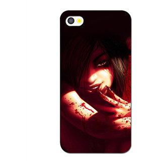 Instyler Premium Digital Printed 3D Back Cover For Apple I Phone 5 3DIP5DS-10092