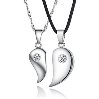 Cara Half My Heart Stud Pendants For Him And Her