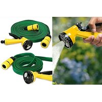 Multipurpose 15 Meter Water Spray Gun With Multiple Nozzle For Car Wash / Garden