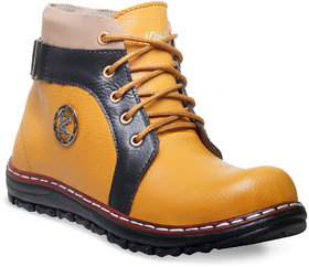 Adybird Men's Multicolor Lace-Up Boots