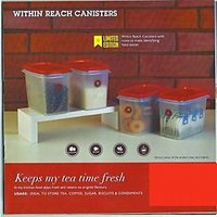 Tupperware Within Reach Canister (800Ml) (4Pcs)