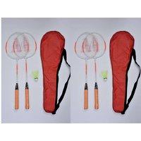 AS - Smash Combo Badminton Racquets (Free 02 Tetron Covers + 02 Shuttles)