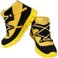 Elvace yellowblack teensport Sports Men Shoes-8016