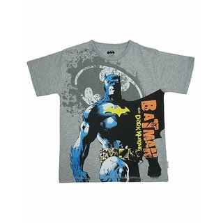 Batman Boys Crew Neck S/Slv Tee