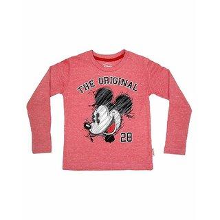 Mickey & Friends Boys Crew Neck F/Slv Tee