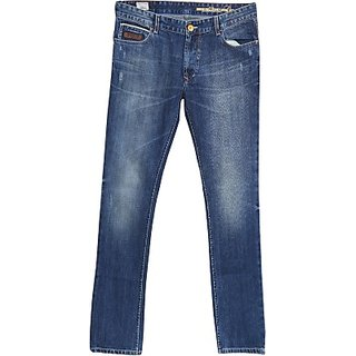 762ab4dbf1 Numero Uno Regular Fit basic Jeans for men cotton Material Color dark blue