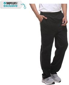 PURYS Black Cotton Sportypyjama