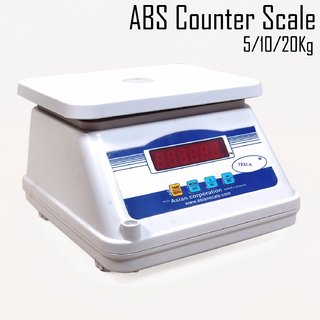 Digital weighing scale 20 kg abs body