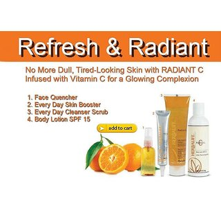 Refresh & Radiant Herbal Facial Scrub Kit