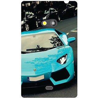 Nokia Lumia 625 Blue Car