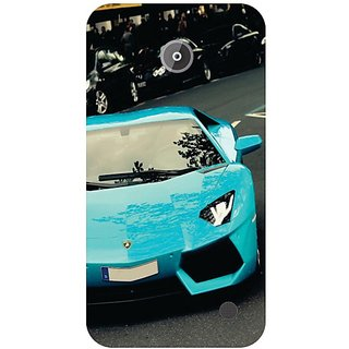 Nokia Lumia 630 Blue Car