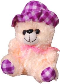 Soft toy fir cap teddy 16 cm for kids  SE-St-45