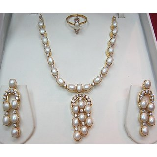 real pearl necklace sets sincerely on promotional price