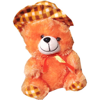 Soft toy Fir cap teddy 25 cm for kids  SE-St-59