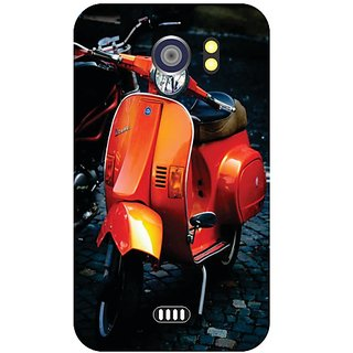 Micromax A 110 Orange