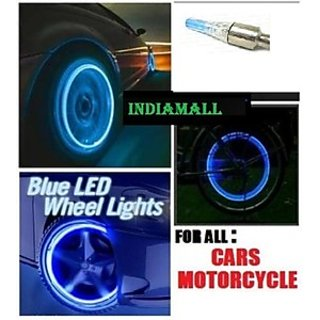 Car Bike Tyre Flash Wheel Lights+ Warranty