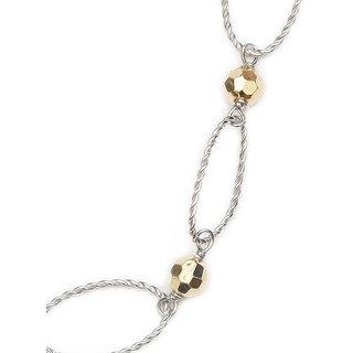 LeCalla Multi Link Gold Ball Chain Necklace