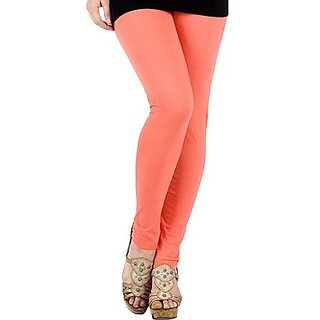 Jelite Women's Leggings-Ankle Length-Peach