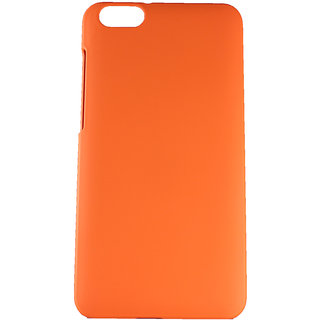 Fcs Rubberised Hard Back Case For Huawei Honor 4X In Matte Finish-Orange FCSHB-HONOR-4X-OR