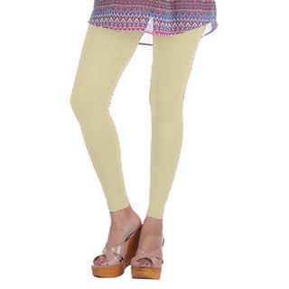 Jelite Women's Leggings-Ankle Length-Butter Cream