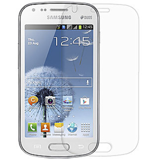 2 x orignal Samsung Galaxy S Duos S7562 Clear Screen Protector
