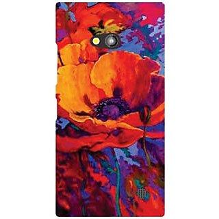Nokia Lumia 730 Colorful Flower
