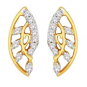 Maya Diamond Delightful 18K Yellow Gold Diamond Earring