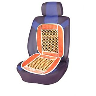 Wooden Beads Accupressure Car Seat