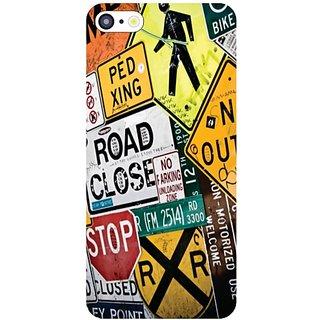 I Phone 5C Road Closed