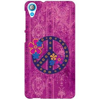 HTC Desire 820 Q Purple Color