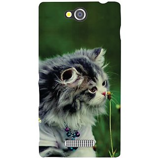Sony Xperia C Cute Cat