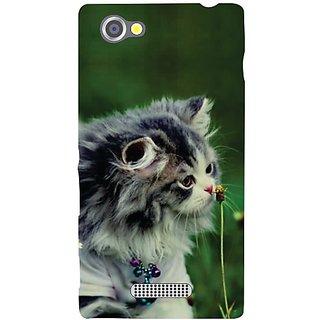 Sony Xperia M Cute Cat