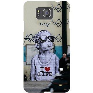 Samsung Galaxy Alpha G 850 I Love Life