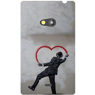 Nokia Lumia 625 Heart Shaped