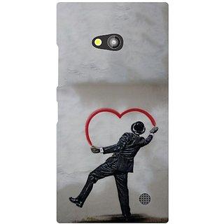 Nokia Lumia 730 Heart Shaped