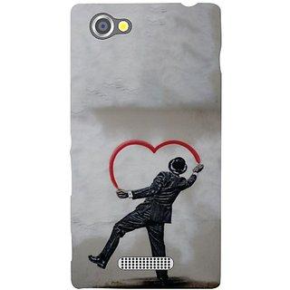 Sony Xperia M Heart Shaped