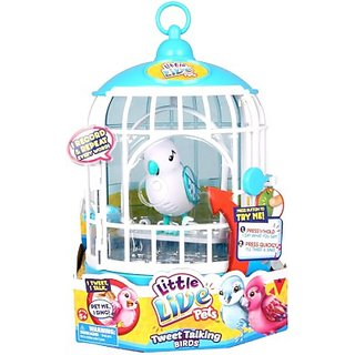 Little Live Pets Bird with Cage Assorted