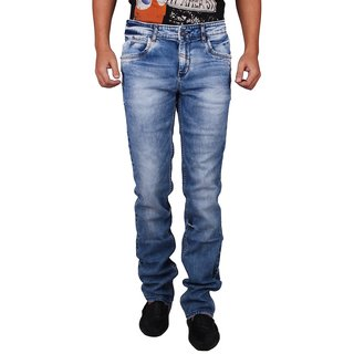 Dcode Blue Low Rise Slim Fit Strecthable Jeans