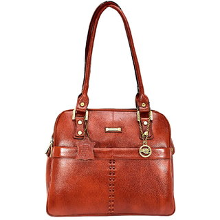 Moochies Tan Genuine Leather Purse