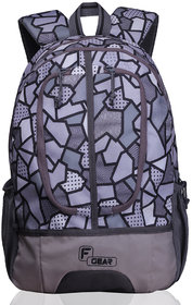 F Gear Dropsy 3D P Grey Casual Backpack