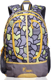 F Gear Dropsy 3D P Yellow Casual Backpack