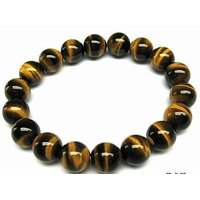 TIGER EYE BRACELET / NATURAL AAA+ QUALITY TIGER EYE STO