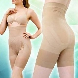 a698a162ea Buy Slimming Half Body shaper   Tummy Tucker for Women - Beige ...