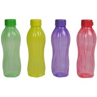 Tupperware Plastic 1 Ltr Water Bottle (Set Of 4 Bottles)
