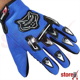 Knighthood 1 Pair of Hand Grip Gloves - Blue Colour