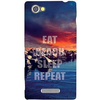 Sony Xperia M Eat  Sleep