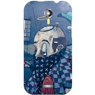 Micromax A117 Canvas Magnus Half Face